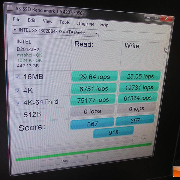 �������� Intel �������� ������ SSD �� �������� PAX Prime