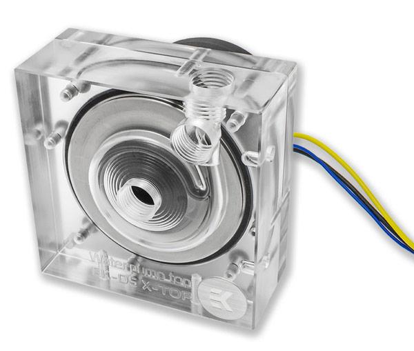 EK Water Blocks представила насосы марки Xylem для систем жидкостного охлаждения