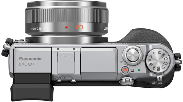Камера Panasonic Lumix DMC-GX7 системы Micro Four Thirds имеет разрешение 16 Мп