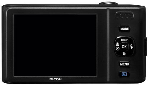 В камере Ricoh HZ15 используется датчик изображения типа CCD формата 1/2,3 дюйма