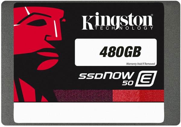 ������������� ���������� Kingston SSDNow E50 ��������� � ����������� 2,5 �����