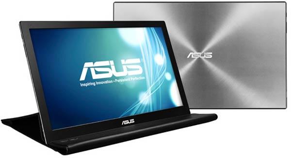 По данным Asus, MB168 — самые тонкие и легкие портативные мониторы в мире