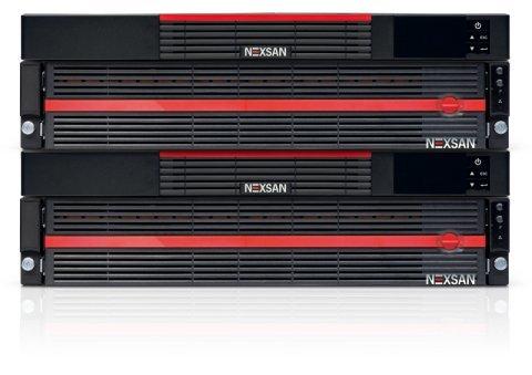 Платформа Nexsan NST6000 поддерживает интерфейс Fibre Channel