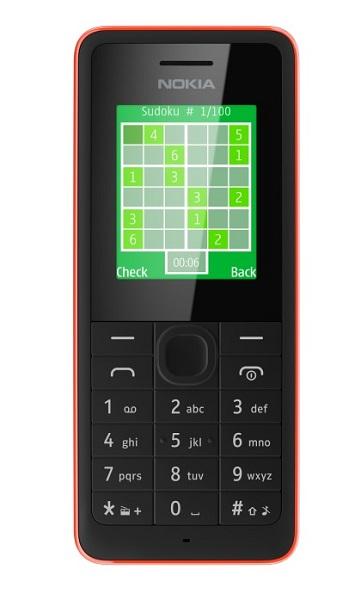 ��������� �������� Nokia 106 � Nokia 107 Dual SIM