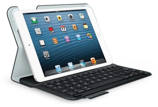 Logitech Ultrathin Keyboard Folio � ������� � ����������� ��� �������� Apple iPad mini