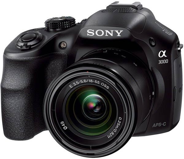 Камера Sony α3000 оснащена датчиком изображения формата APS-C