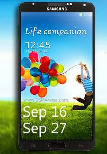 Прием заказов на планшетофоны Samsung Galaxy Note 3 начнется 16 сентября, а отгрузка — 27 сентября