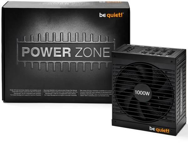 ���� �� Be Quiet! Power Zone ��������� 650 �� ���������� 105 ����, 750 �� � 125 ����, 850 �� � 149 ����, 1000 �� � 169 ����