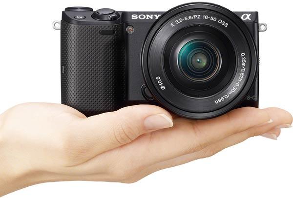 Беззеркальная камера Sony NEX-5T поддерживает Wi-Fi и NFC