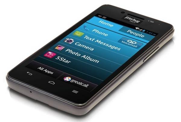 При создании смартфона Jitterbug Touch 2 учтены потребности пожилых людей