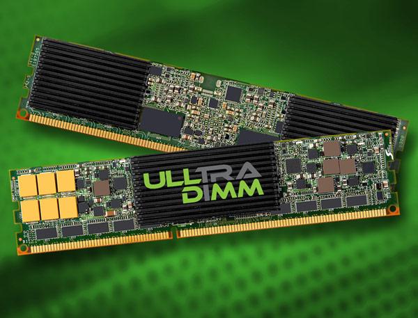 Подключение SSD ULLtraDIMM напрямую к контроллеру памяти, по словам Smart Storage Systems, обеспечивает минимальные задержки