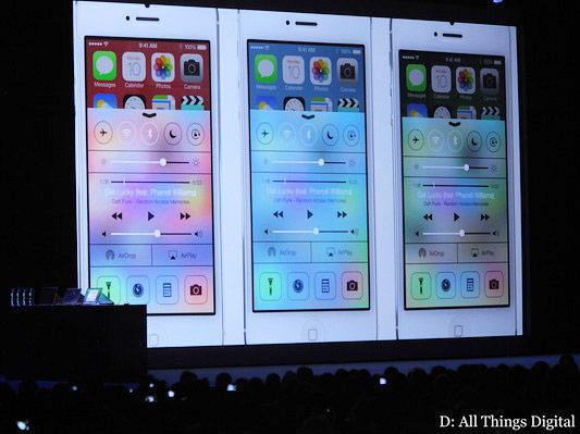 ����� �������� Apple iPhone ����� �������� ��� ����������� ������������ ������� iOS 7