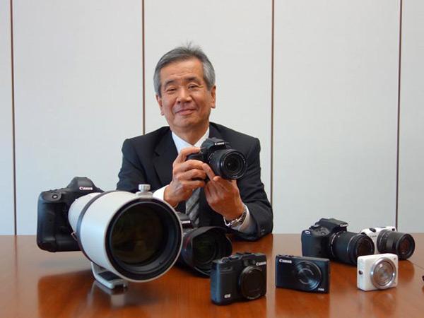 Развивая систему Canon EOS M, производитель постарается, чтобы камеры оставались маленькими