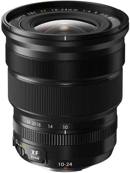 Компания Fujifilm представила объектив Fujinon XF10-24mmF4 R OIS для камер серии Fujifilm X