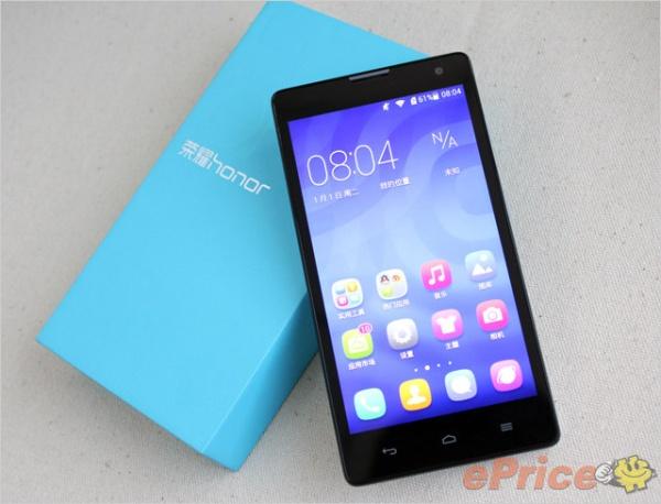Результаты тестирования смартфона Huawei Honor 3C стали доступны в Сети