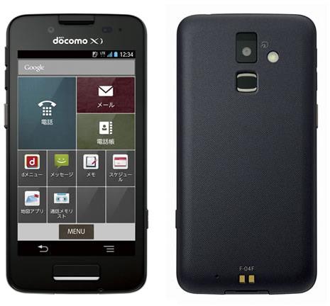 Смартфон Fujitsu F-04F ориентирован на деловых пользователей