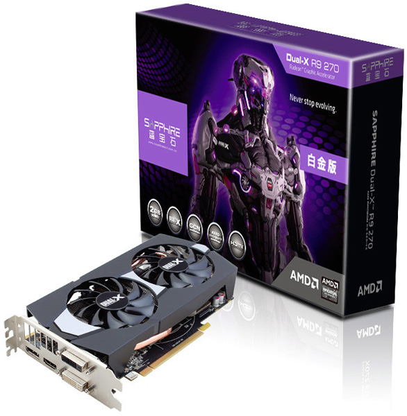 Sapphire Radeon R9 270 Boost OC Edition
