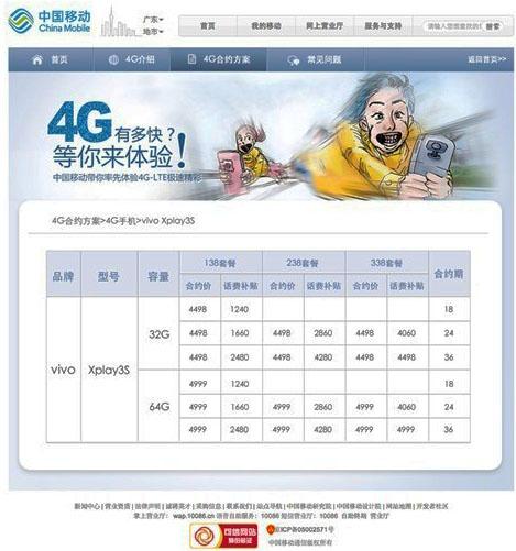 �����-����, �������������� China Mobile, ������� � ���, ��� ���� ����� ������� ������ ��������� Vivo Xplay 3S �������� $740