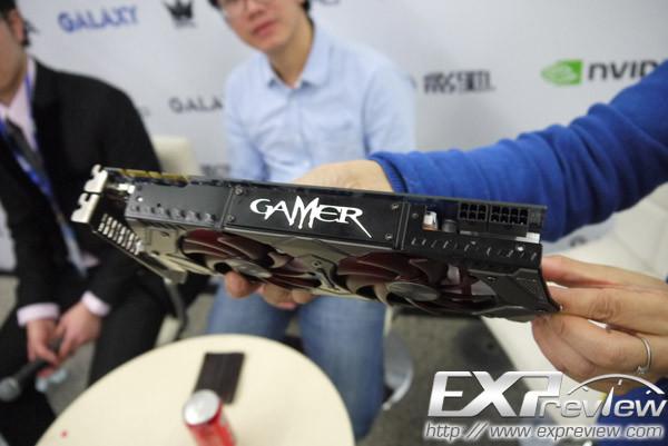 Базовая частота GPU Galaxy GTX 760 Gamer равна 1086 МГц