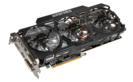 Gigabyte Radeon R9 290 и Radeon R9 290X WindForce 3X 450W