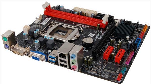 Основой платы Biostar B85MG служит набор системной логики Intel B85