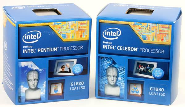 Процессоры Intel Celeron G1820 и G1830 в розничной комплектации уже можно встретить по цене от $48 и $56 соответственно