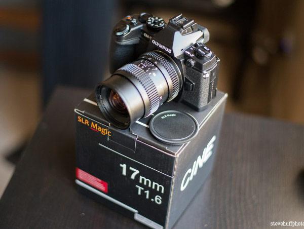 ����������� �������� SLR Magic 17mm T1.6 ��� ����� ������� Micro Four Thirds