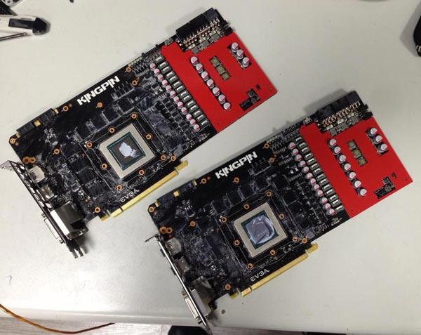 ��������� ������ ����������� 3D-����� EVGA GTX 780 Ti Classified KingPin Edition, ��������� ������ ������� ������ � �� ��������