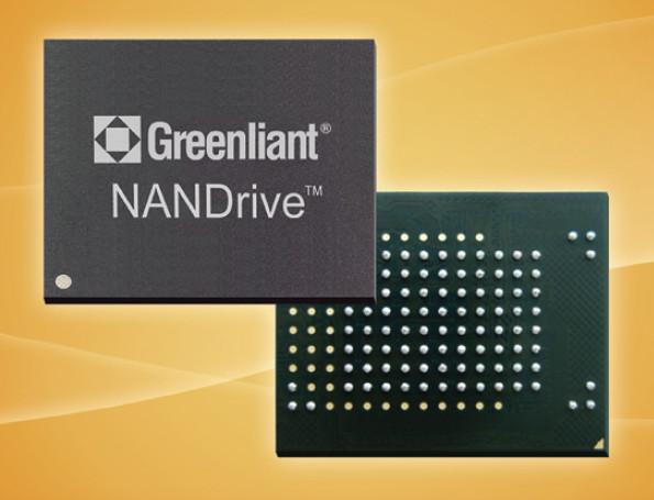 Встраиваемые SSD Greenliant eMMC NANDrive GLS85VM работают в диапазоне температур от -40°С до +85°С