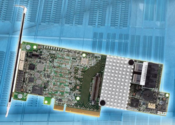 В конфигурации JBOD контроллеры Intel RAID RS3 обеспечивают производительность более 1 млн. IOPS