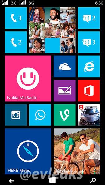 Смартфон Nokia Moneypenny не имеет навигационных клавиш
