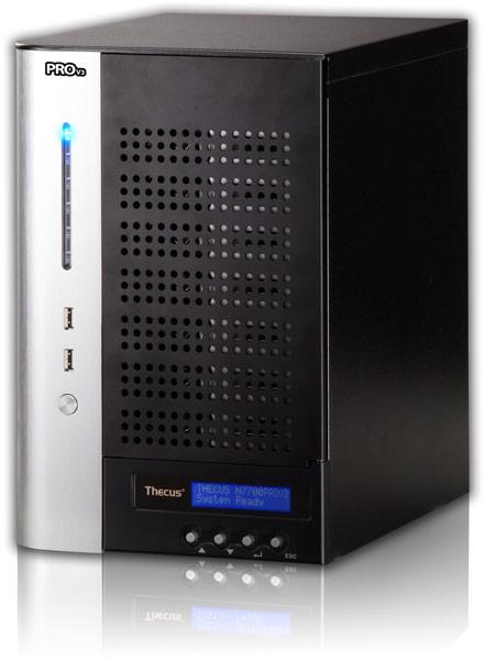 Основой NAS Thecus N7710 и N8810U служат процессоры Intel Pentium G850