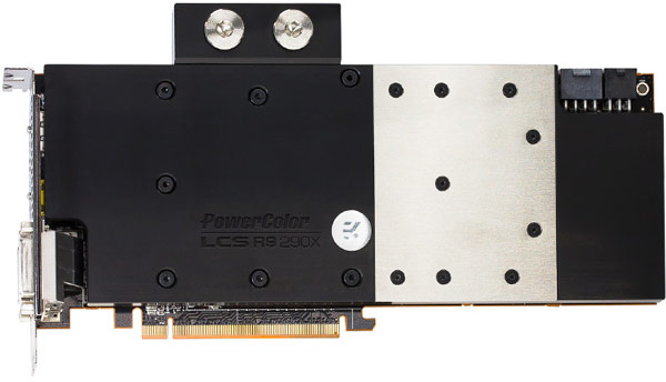 Компоненты 3D-карты PowerColor Radeon R9 290X работают на повышенных частотах