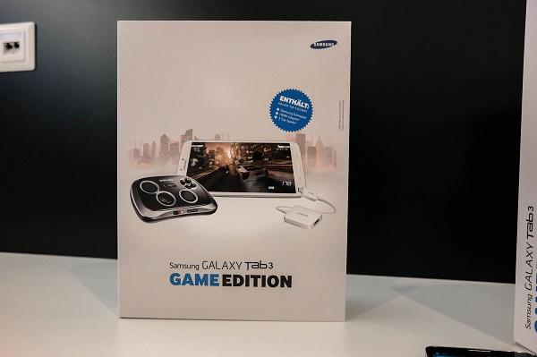 В набор Samsung Galaxy Tab 3 Game Edition войдёт планшет Samsung Galaxy Tab 3 8.0 (Wi-Fi) и манипулятор Samsung Smartphone GamePad
