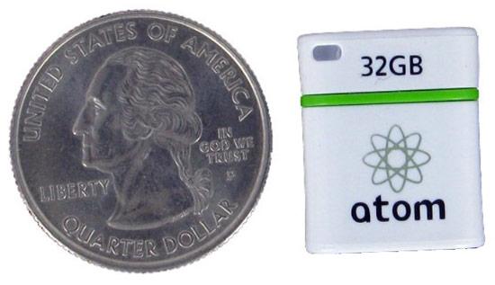 Доступны накопители Mushkin Atom USB 3.0 объемом 8, 16 и 32 ГБ