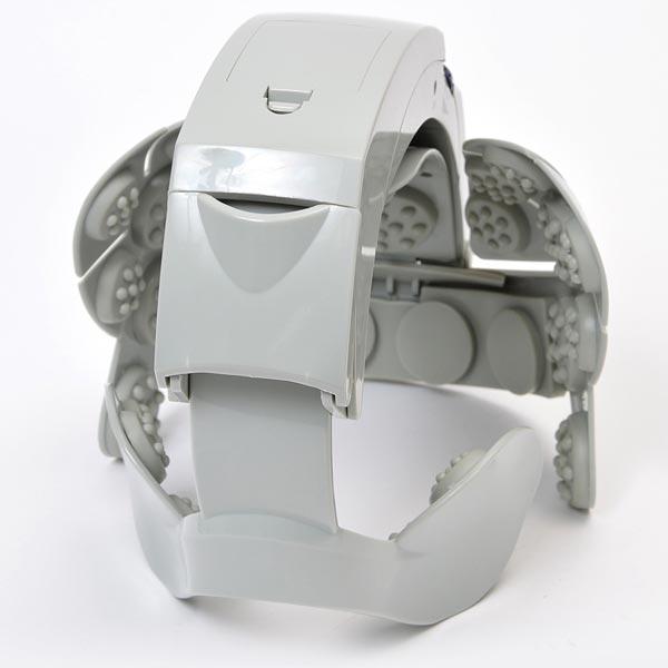 Массажный шлем Thanko весит 434 г