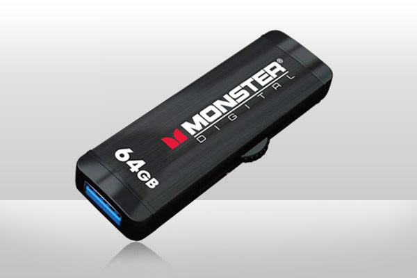 Накопители Monster Digital Advanced USB 3.0 OTG демонстрируют скорость передачи данных до 80 МБ/с