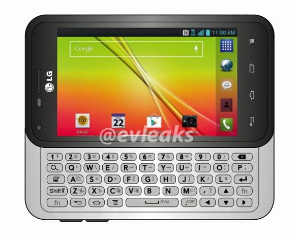 Опубликовано изображение смартфона LG Optimus F3Q