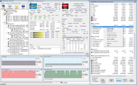 Скриншот интерфейса программы HWiNFO
