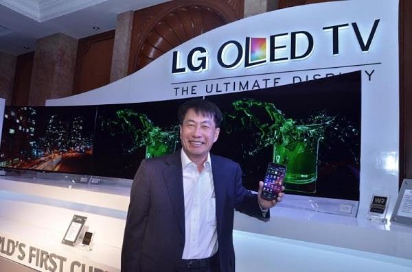 ��������� LG Curved OLED 55EA9800