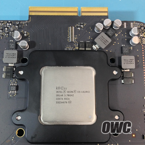 Apple Mac Pro, системная плата с процессором