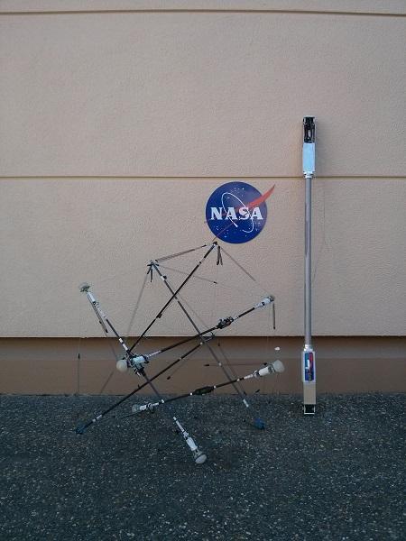 Агентство NASA показало прототип робота Super Ball Bot, который займётся изучением планет
