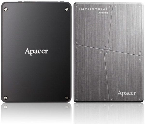 В накопителях Apacer SFD25A-M используется память типа MLC NAND