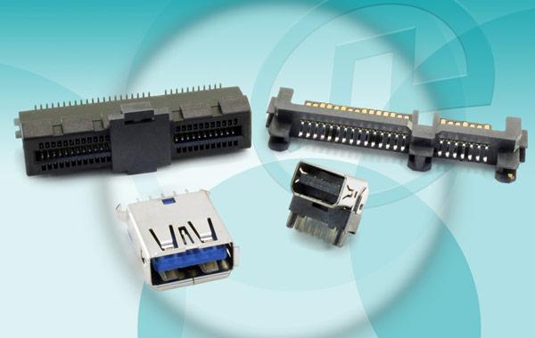 Новые разъемы Pulse Electronics поддерживают скорости передачи 5-10 Гбит/с