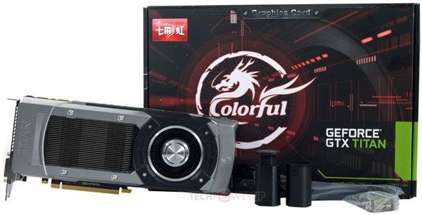 GeForce GTX Titan в исполнении Colorful