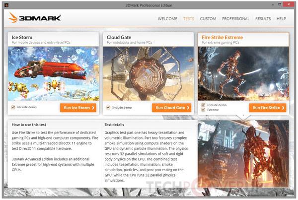 Базовая редакция Futuremark 3DMark доступна бесплатно
