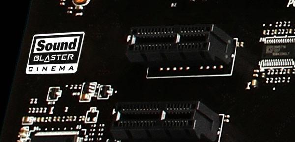 Игровые системные платы MSI с поддержкой Creative Sound Blaster Cinema будут представлены на выставке CeBIT 2013