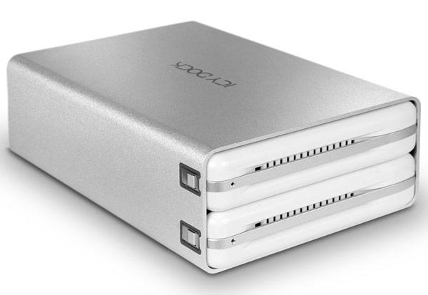 ������ ��� �������� ������� ������ Icy Dock ICYRaid MB662U3-2S ������� ����������� USB 3.0