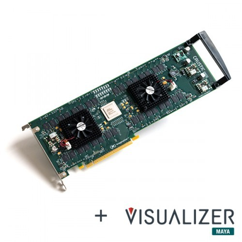 Ускорители Caustic Series2 R2500 и R2100 выполнены в виде карт расширения PCI Express