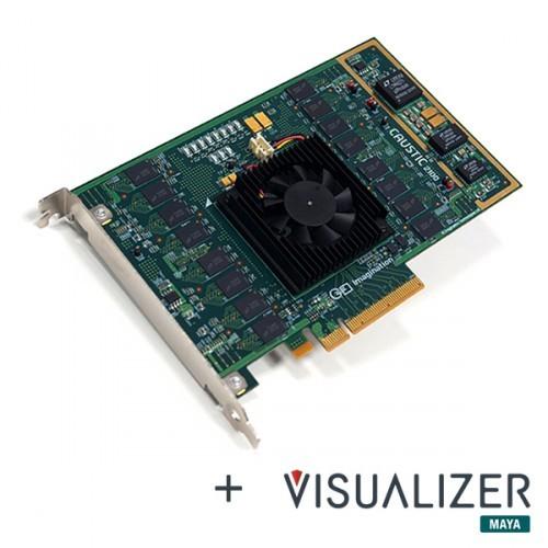 Ускорители Caustic Series2 R2500 и R2100 выполнены в виде карт расширения PCI Express